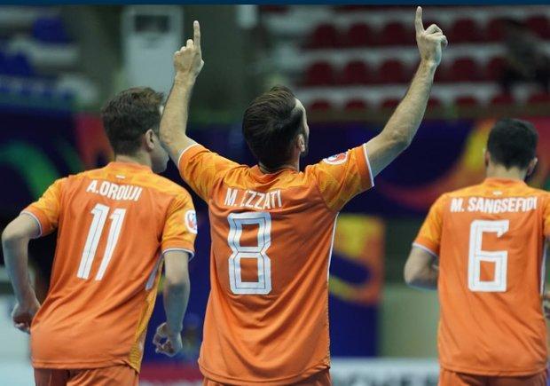 صعود تیم فوتسال مس به فینال جام باشگاه های آسیا