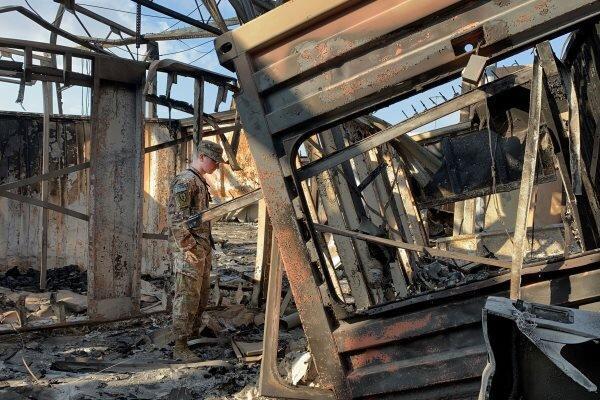 چراغ سبز ترامپ به ارتش آمریکا برای واکنش به حمله راکتی بهالتاجی