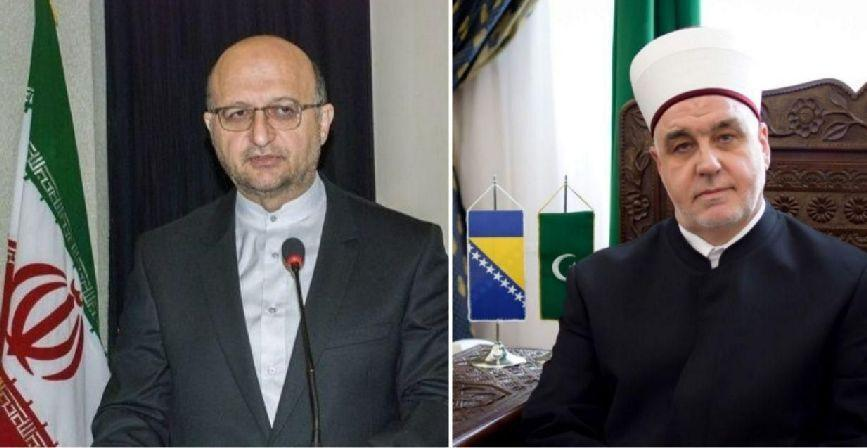 خبرنگاران اعلام همبستگی جامعه اسلامی بوسنی با ملت ایران در مقابله با کرونا