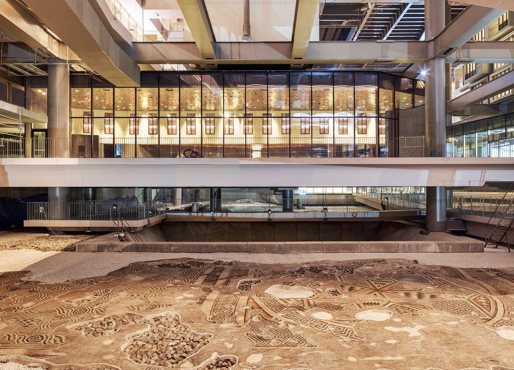 هتل بی نظیر ترکیه که بالای موزاییک های زیبای باستانی معلق است: هتل - موزه آنتاکیا