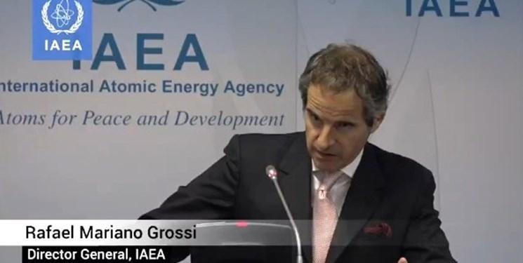تکرار ادعاهای آژانس علیه ایران، گروسی: درباره برنامه هسته ای سعودی ها نگران نیستیم