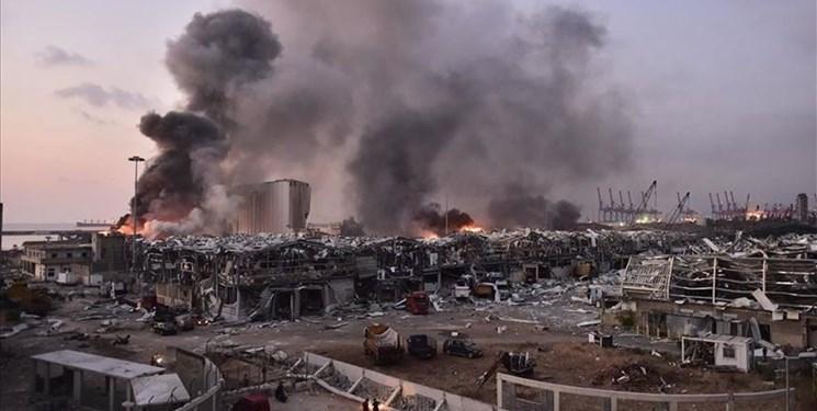مقام های آمریکایی: انفجار بیروت احتمالاً حاصل رویداد تصادفی است
