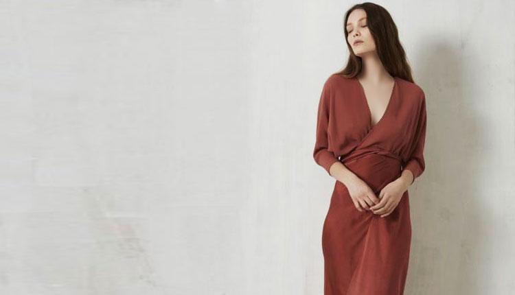 30 مدل لباس مجلسی قهوه ای شیک و مدرن