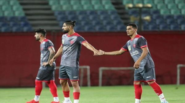 اولین بازی 5 بازیکن تیم فوتبال پرسپولیس در آسیا